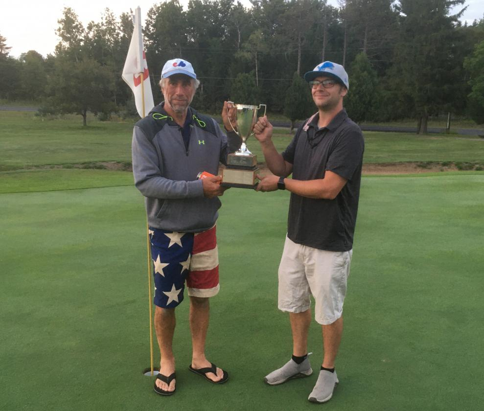 Curt Hayes and Howie Peckham - 2021 Champs!
